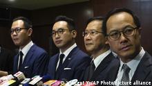 Hongkong Carrie Lam, Dennis Kwok, Kenneth Leung, Kwok Ka-ki, Alvin Yeung