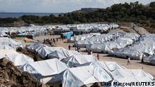 Griechenland Insel Lesbos  Flüchtlingslager Kara Tepe