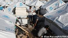 Griechenland Insel Lesbos |Flüchtlingslager Kara Tepe