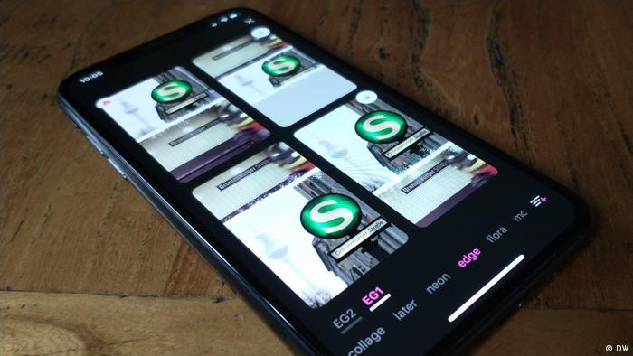 DW Shift: Fotobearbeitungs-Apps im Test, Storyluxe