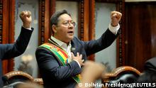 Bolivien La Paz |Luis Arce, Amtseinführung als Präsident