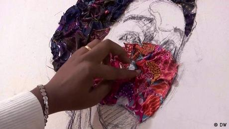 Eco Africa - Making art from fabric scraps