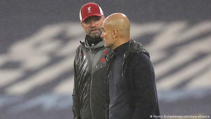 Premier League  Jürgen Klopp & Pep Guardiola
