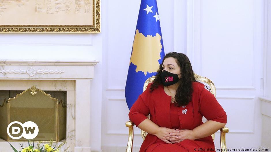 Vjosa Osmani do të shfuqizojë vendime të ish-presidentit Thaçi | Ballkani |  DW | 25.11.2020