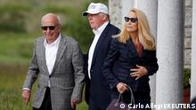 Schottland Trump International Golf Link Rupert Murdoch Donald Trump 2016