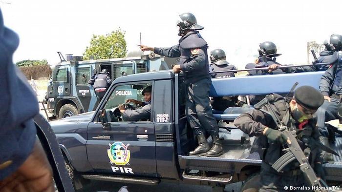Manifestações anti-Governo em Luanda, Angola