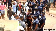 Angola Ndalatando |Polizeigewalt gegen Demonstration