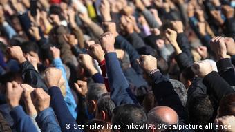 Протесты в Ереване против премьер-министра Пашиняна