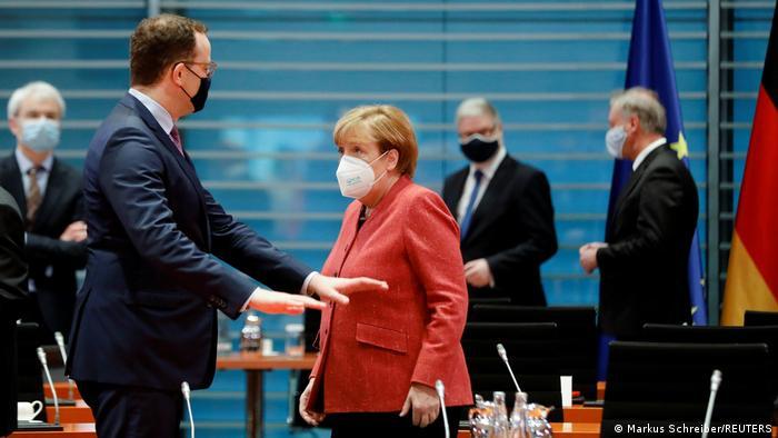 Deutschland I Coronavirus I Angela Merkel