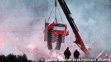 Polen I Rechter Aufmarsch in Warschau
