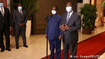 Alassane Ouattara a entamé le dialogue avec l'opposant Henri Konan Bédié
