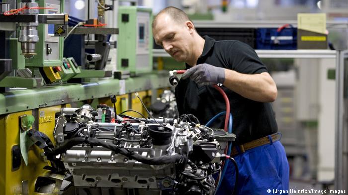 Mercedes-Benz-Produktionswerk in Berlin-Marienfelde
