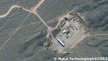 Satellite image shows Iran's Natanz Nuclear Facility in Isfahan, Iran, October 21, 2020. Picture taken October 21, 2020 in this image supplied by Maxar Technologies. ©2020 MAXAR TECHNOLOGIES/Handout via REUTERS THIS IMAGE HAS BEEN SUPPLIED BY A THIRD PARTY. MANDATORY CREDIT. NO RESALES. NO ARCHIVES. MUST CREDIT ©2020 MAXAR TECHNOLOGIES. THE WATERMARK MAY NOT BE REMOVED/CROPPED.