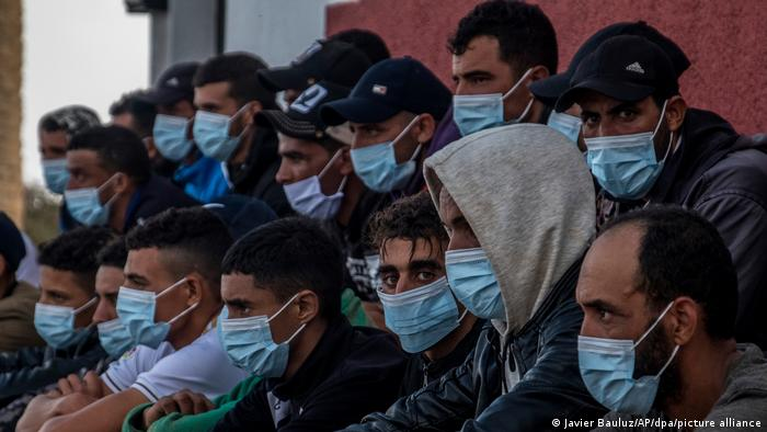 Migranten auf den Kanaren