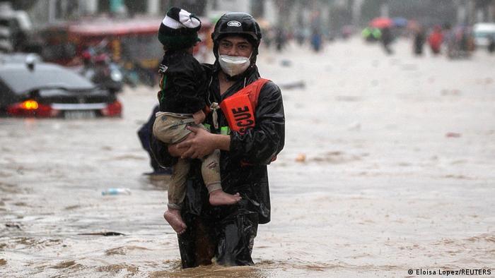 Philippinen Taifun Vamco