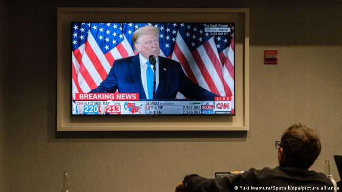 US-Wahlen 2020 Wahl USA Donald Trump TV