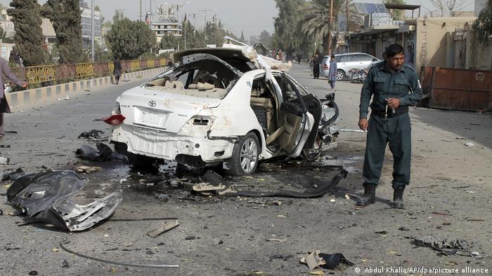 Afghanistan Journalist Autobombe Anschlag Taliban