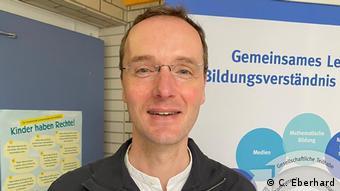 Leiter der der offenen Ganztagsschule Gottfried Kinkel in Bonn-Oberkassel Christian Eberhard