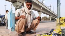 Indien Noida, Delhi |Festival of lights |Tagelöhner & reduziertes Einkommen