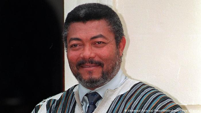 Jerry Rawlings (Universal Pictorial Press/Photoshot/picture alliance)