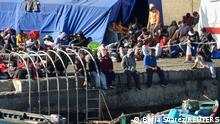 Spanien Gran Canaria Arguineguin | Ankunft von Flüchtlingen