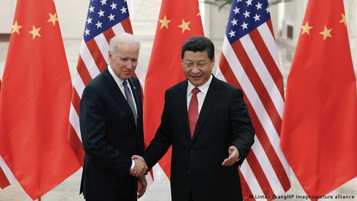 Joe Biden dan Xi Jinping