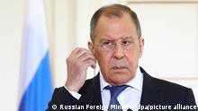 Russland I Außenminister Sergei Lawrow