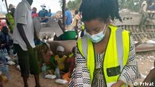 Mosambik I Hawaje Afido beherbergt 20 Vertriebene in ihrem Haus