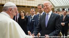 Papst Franziskus und Joe Biden