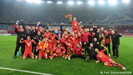 Fussball I Mazedonien v Georgien (Petr Stojanovski/DW)