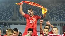 Fussball I Mazedonien v Georgien