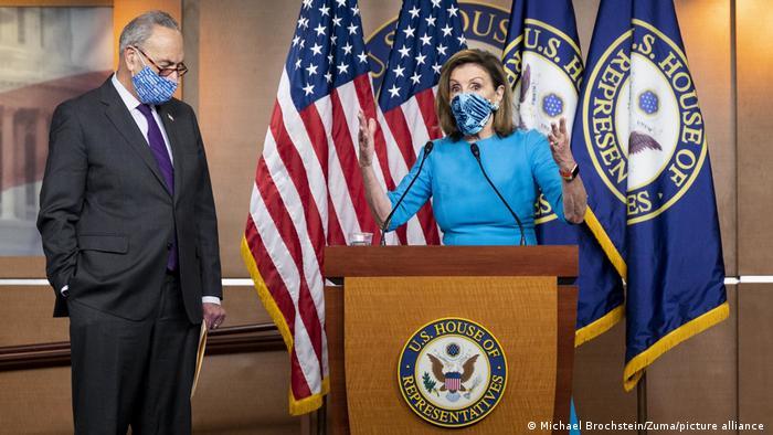 Washington | Nancy Pelosi & Chuck Schumer PK