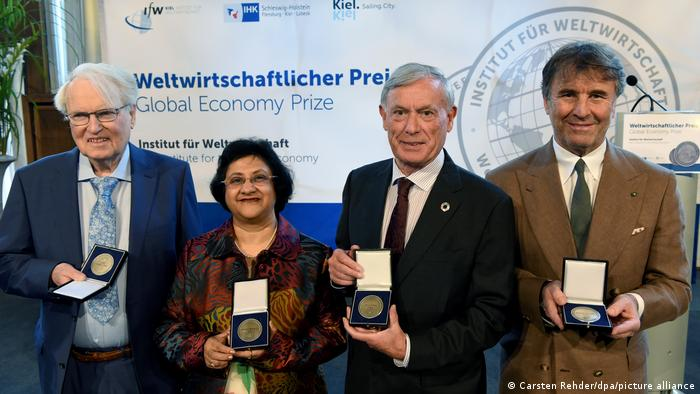 Brunello Cucinelli was one recipient of the Global Economy Prize by the Kiel Institute for the World Economy