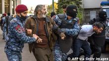 Armenien Jerewan | Proteste gegen Waffenstillstandsabkommen