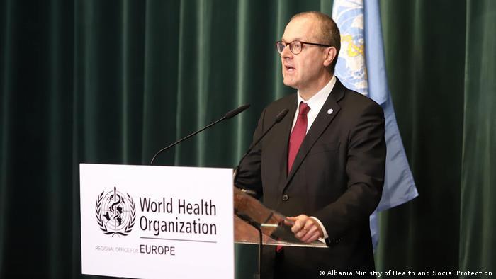 Albanien WHO Unterstützung Coronakrise Dr. Hans Kluge