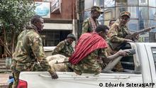 Äthiopien Gondar | Amhara Miliz