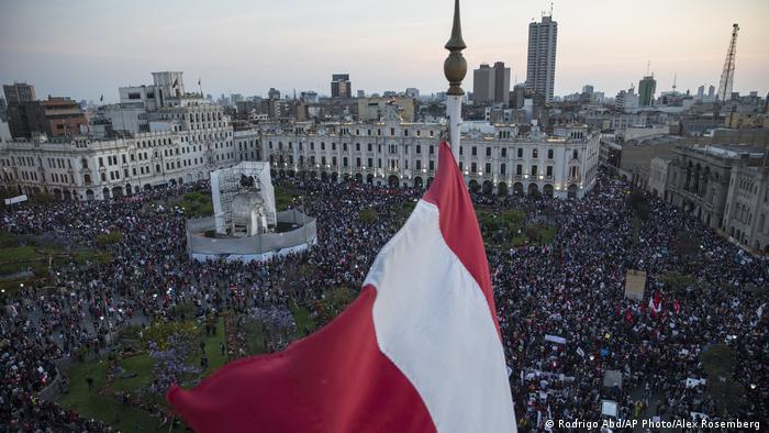 Peru Lima | Proteste Ausschreitungen Regierungskrise