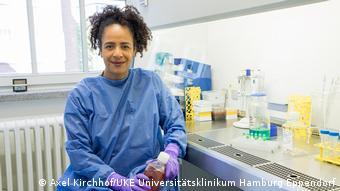 Профессор Университетской клиники Гамбург-Эппендорф Мэрилин Аддо