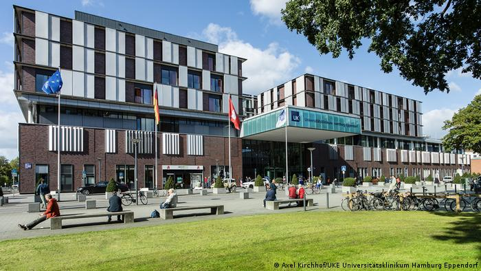 Главный корпус Университетской клиники Гамбург-Эппендорф