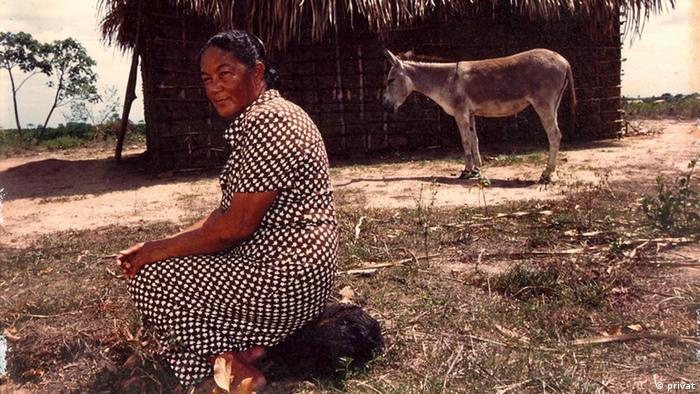 Ativista Pureza Lopes Loyola em locação rural