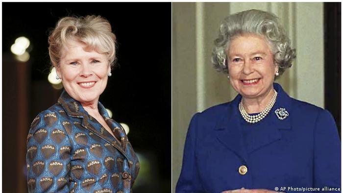 Bildkombi - TV-Serie The Crown - Ab der fünften Staffel übernimmt Imelda Staunton die Rolle der Queen (rechts)