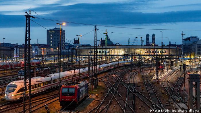 Estação ferroviária de Munique