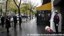 Frankreich Paris |Gedenken an Terroranschläge 2015 |Bataclan