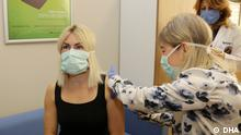 Türkei Coronavirus | Impfung | Özlenen Özkan, Rektorin der Uni Akdeniz