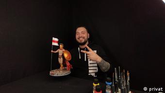 Валерий Шевченко с его работами