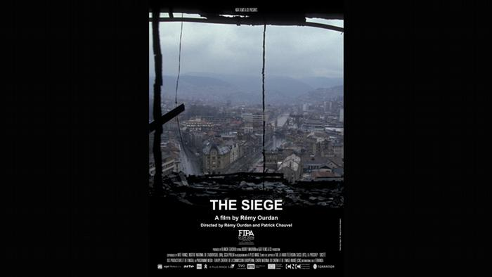 Poster for the film The Siege by Rémy Ourdan