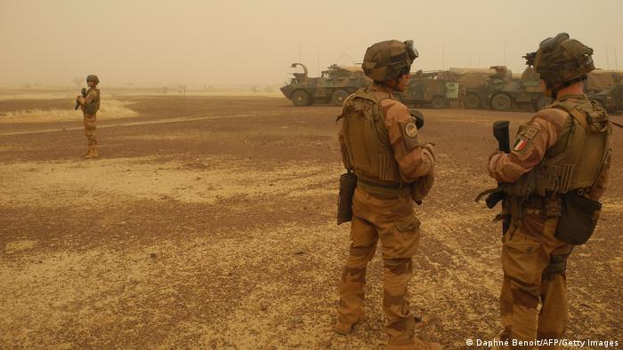 Around 5,100 French troops are stationed across the Sahel region