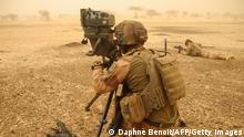 Mali Französische Soldaten