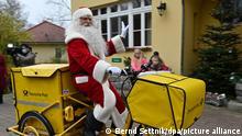 Deutschland Himmelpfort | Ankunft | Weihnachtsmanns