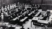 Deutschland | Nürnberger Prozesse | Verhandlungssaal